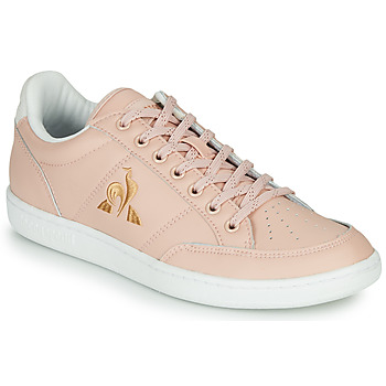 Chaussures Femme Baskets basses Le Coq Sportif COURT CLAY W Rose