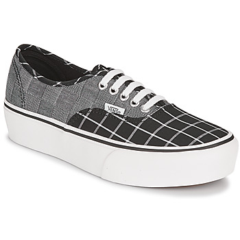 Chaussures Femme Baskets basses Vans AUTHENTIC PLATFORM 2.0 Gris