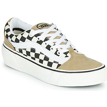 Chaussures Femme Baskets basses Vans SHAPE NI Beige / Blanc