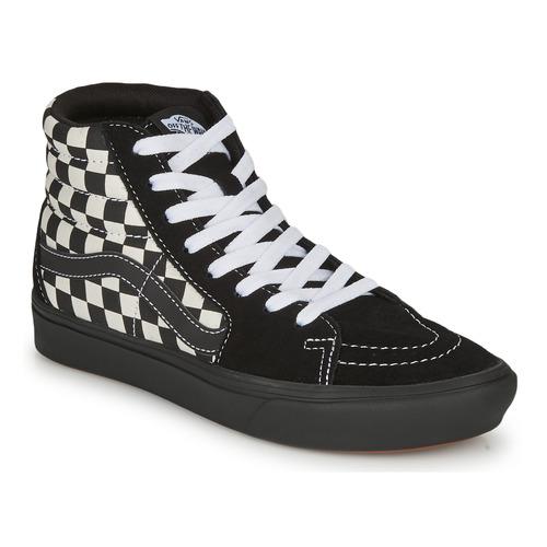 Chaussures Femme Baskets montantes Vans COMFYCUSH SK8-HI Noir
