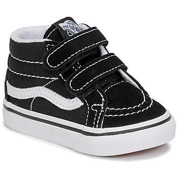 Chaussures Enfant Baskets montantes Vans TD SK8-MID REISSUE V Noir / Blanc