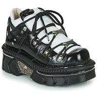 Chaussures Femme Baskets basses New Rock M-106N-S76 Noir / Blanc