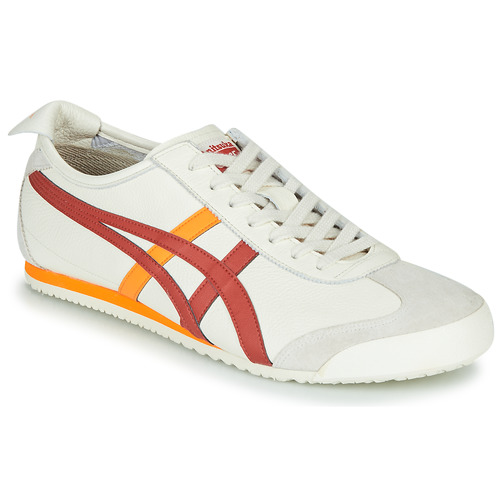 Chaussures Baskets basses Onitsuka Tiger MEXICO 66 Blanc / Rouge / Jaune