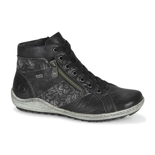 Chaussures Femme Baskets montantes Remonte Dorndorf R1497-45 Noir