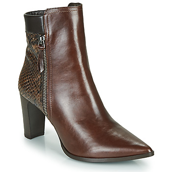 Chaussures Femme Bottines Perlato JAMIKONE Marron