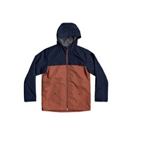 Vêtements Garçon Blousons Quiksilver WAITING PERIOD Marine / Marron