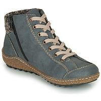 Chaussures Femme Boots Rieker L7543-14 Bleu