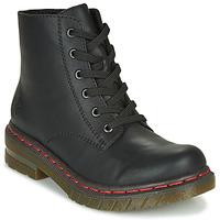 Chaussures Femme Boots Rieker 76240-00 Noir