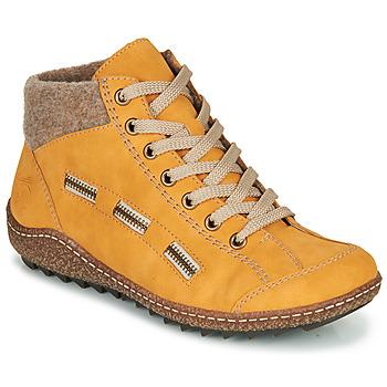 Chaussures Femme Boots Rieker L7543-69 Jaune