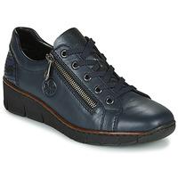 Chaussures Femme Baskets basses Rieker 53702-14 Bleu