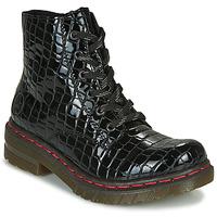 Chaussures Femme Boots Rieker 76246-00 Noir