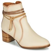 Chaussures Femme Bottines Pikolinos CALAFAT W1Z Beige / Marron