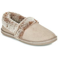 Chaussures Femme Chaussons Skechers COZY CAMPFIRE Beige