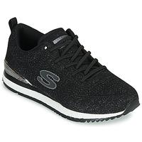 Chaussures Femme Baskets basses Skechers SUNLITE Noir