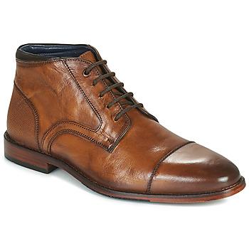 Chaussures Homme Boots Azzaro TELLIS Cognac