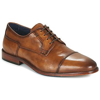 Chaussures Homme Derbies Azzaro TILLEUL Cognac