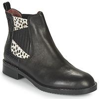 Chaussures Femme Boots Café Noir JOYE Noir