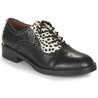 Chaussures Femme Derbies Café Noir JEREL Noir / Blanc