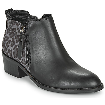 Chaussures Femme Bottines Elue par nous HOUP Noir