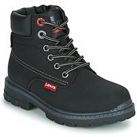 Chaussures Enfant Boots Levi's NEW FORREST Noir