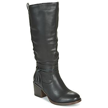 Chaussures Femme Bottes ville Emmshu FILI Noir