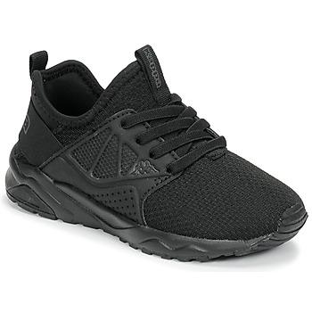 Chaussures Garçon Baskets basses Kappa SAN DIEGO ELASTIC Noir