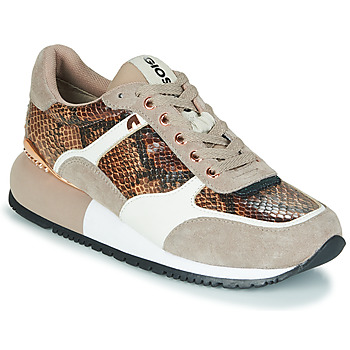 Chaussures Femme Baskets basses Gioseppo BELEBEY Marron / Beige