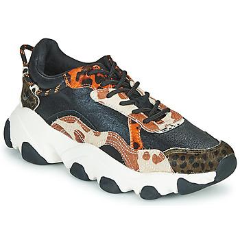 Chaussures Femme Baskets basses Gioseppo ALEKSIN Noir / Orange