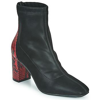 Chaussures Femme Bottines Gioseppo EGELN Noir / Rouge