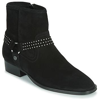 Chaussures Femme Boots Ikks BOOTS GAUCHO Noir