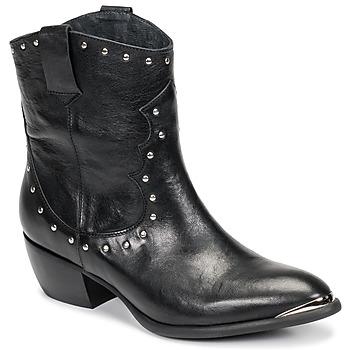 Chaussures Femme Bottes ville Ikks BOTTES Noir