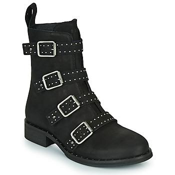 Chaussures Femme Boots Ikks URBAN RANGERS Noir