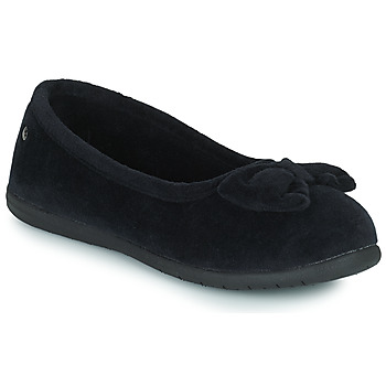 Chaussures Femme Chaussons Isotoner 97258 Noir