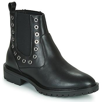 Chaussures Femme Boots Only ONLTINA 3 PU BOOT Noir