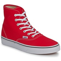 Chaussures Air max tnFemme Baskets montantes Vans AUTHENTIC HI Rouge