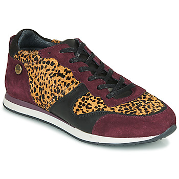 Chaussures Femme Baskets basses Pataugas IDOL/I F4E Bordeaux / Leopard