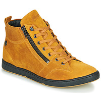 Chaussures Femme Baskets montantes Pataugas JULIA/CR F4F Ocre