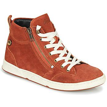 Chaussures Femme Baskets montantes Pataugas JULIA/CR F4F Brique