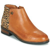 Chaussures Femme Boots Pataugas MEGAN/PO F4F Camel