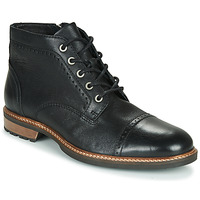 Chaussures Homme Boots Pataugas RENAUD H4F Noir