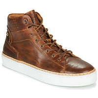 Chaussures Homme Baskets montantes Pataugas SERGIO H4F Cognac
