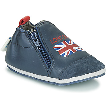 Chaussures Enfant Chaussons Robeez LONDON FLAG Marine