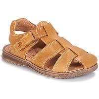 Chaussures Garçon Sandales et Nu-pieds Citrouille et Compagnie MELTOUNE Camel