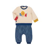 Vêtements Garçon Ensembles enfant Catimini CR36050-46 Multicolore