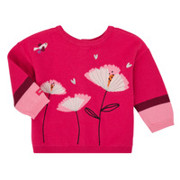 Vêtements Fille Gilets / Cardigans Catimini CR18033-35 Rose