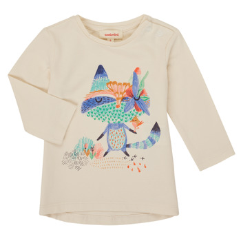 Vêtements Fille T-shirts manches longues Catimini CR10053-12 Blanc