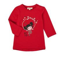 Vêtements Fille T-shirts manches longues Catimini CR10043-38 Rouge