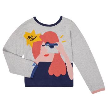 Vêtements Fille Gilets / Cardigans Catimini CR18055-21-J Multicolore