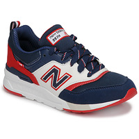 Chaussures Garçon Baskets basses New Balance 997 Bleu / Blanc / Rouge