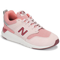 Chaussures Fille Baskets basses New Balance YS009 Rose